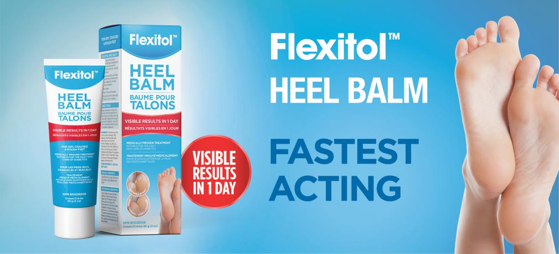 Flexitol Heel Balm - Fastest acting